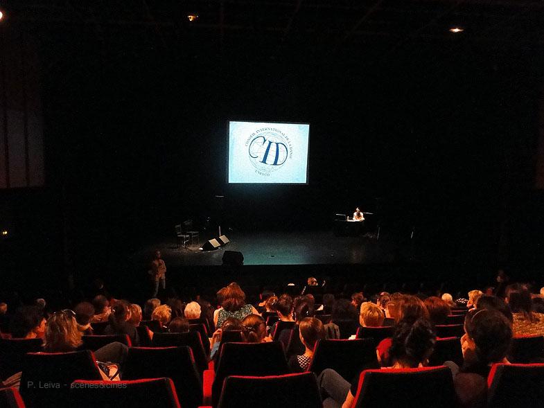 Conférence Dansée en théâtre flamenco imaginaflamenco